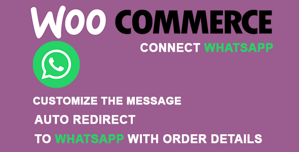 woocommerce order whatsapp inline preview