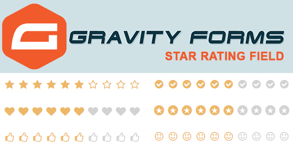 gravityforms star rating field inline preview