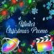 Winter Christmas Promo - Apple Motion