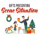 Gifts presenting - Scene Situation