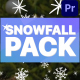 Cartoon Snowfall   Premiere Pro MOGRT