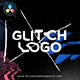 Glitch Distortion Logo Intro