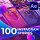 100 Instagram Stories