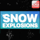 Snow Explosions | Motion Graphics