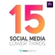Clean Rounded Social Media Lower Thirds
