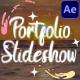 Portfolio Slideshow   After Effects