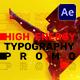Energy Typography Promo