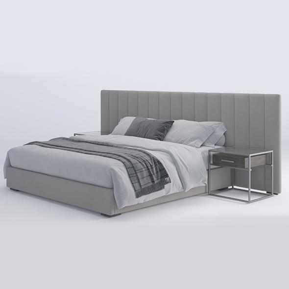 bed modern 01