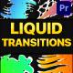 Gradient Liquid Transitions   Premiere Pro MOGRT