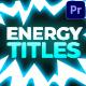 Energy Titles Pack | Premiere Pro MOGRT
