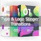 Typo & Logo Stinger Transitions Pack