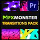 Stylish Colorful Transitions | Premiere Pro MOGRT