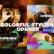 Colorful Stylish Opener