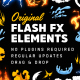 Original Flash FX Elements & Transitions [Ae]