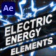 Electric Energy Elements | After Effects