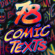 Arcade Comic Texts FX Pack