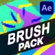Brush Elements And Titles | After Effects