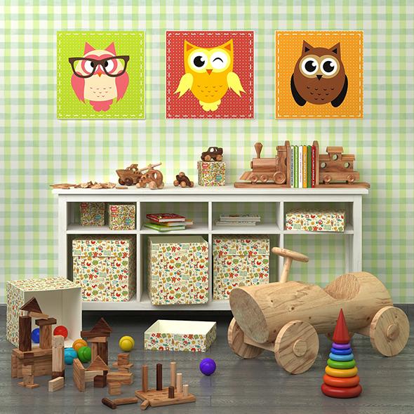 Decorative set for child 1