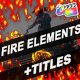 Fire Elements And Backgrounds | FCPX