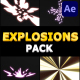 Cartoon Explosions Pack | After Effects