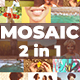 Mosaic Photo Reveal