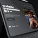 Tablet Web Site App Intro Promotion