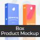 Box Mock-Up - Product Marketing Mockup