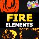Cartoon Fire Pack   FCPX