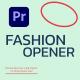 Modern Fashion Opener