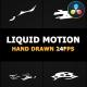 Abstract Liquid Elements | DaVinci Resolve