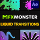 Liquid Transitions   After Effects
