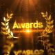 Gold Luxury Award Logo Reveal