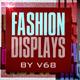 Fashion Displays with Text Presentation