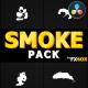 Cartoon Smoke Elements   DaVinci Resolve