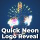 Quick Neon Logo Reveal