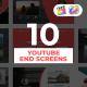 Youtube End Screens for Apple Motion and FCPX