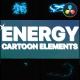 Cartoon Energy Elements | DaVinci Resolve