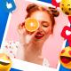 Social Media Photo Slideshow