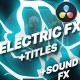 Flash FX Electric Elements And Titles   DaVinci Resolve