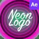 Neon Logo Reveals