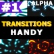 Dynamic Handy Transitions   Motion Graphics Pack