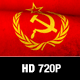 Soviet Flag Motion Loop