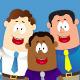 Ethnic Business Cartoon Mascots