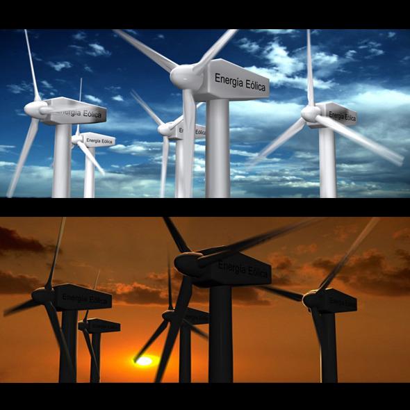 Wind Eolic Turbine