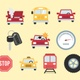 Auto & Road Icons Pack