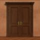 Opening Wooden Door 2