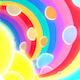 3D Rainbow Tunnel