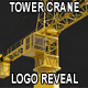 Tower Crane Showing Your Logo or Footage