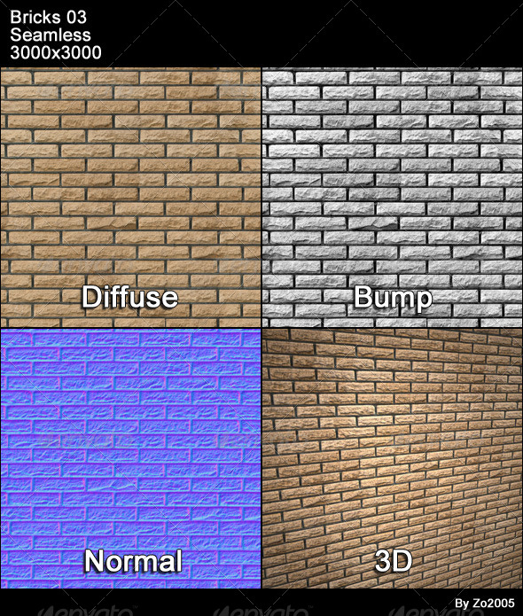 Bricks 03 Tileable