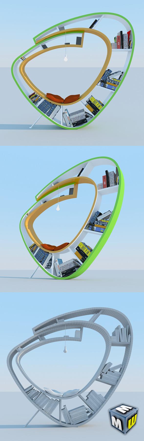 Bookshelf Modern MAX 2011